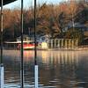 Boat dock scene