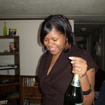 Christal Lewis with the Boose.....