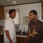 Leland & Eric telling a few...