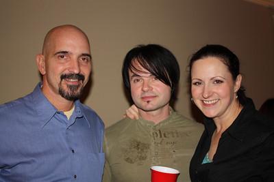 Arthur, Adrian and Wendy