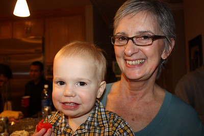Archer loves Grandma