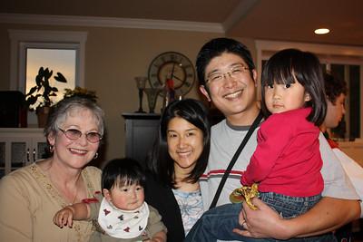 Jan with Matt and Nako's family