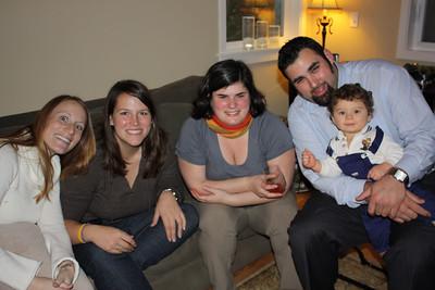 Richelle, Kelly, Bridget, Jaime and Nate