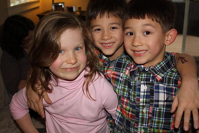 Freya, Nick and Zack
