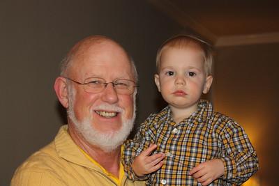Archer loves Grandpa
