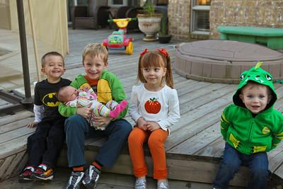 Thanksgiving grandchildren 2013