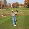 Mark on the 18th tee