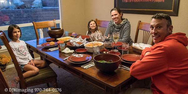 Thanksgiving with Jon, Ashley, Kate and Madi - Parker CO - 11/24/2017
