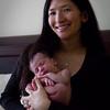 Jaime holding baby Annalise