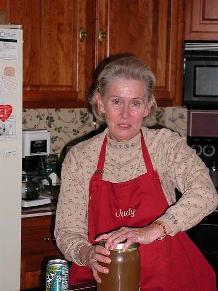 Thanksgiving at the Millers - 2001