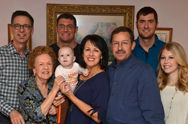 Family Photo - Thanksgiving 2015