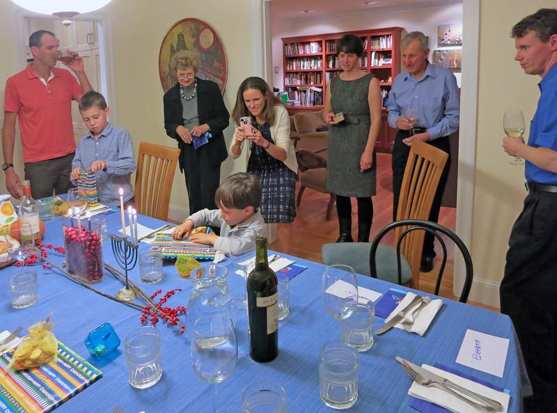 05-Thanksgivukkah at Elizabeth's
