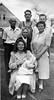 1945-08 IMG_2770 Clifton Merriam, Ellen with Ricky, Harriet L Currier, Howard, Elenora, Allison