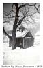 1935 Sanborn Sap House, Snowstorm