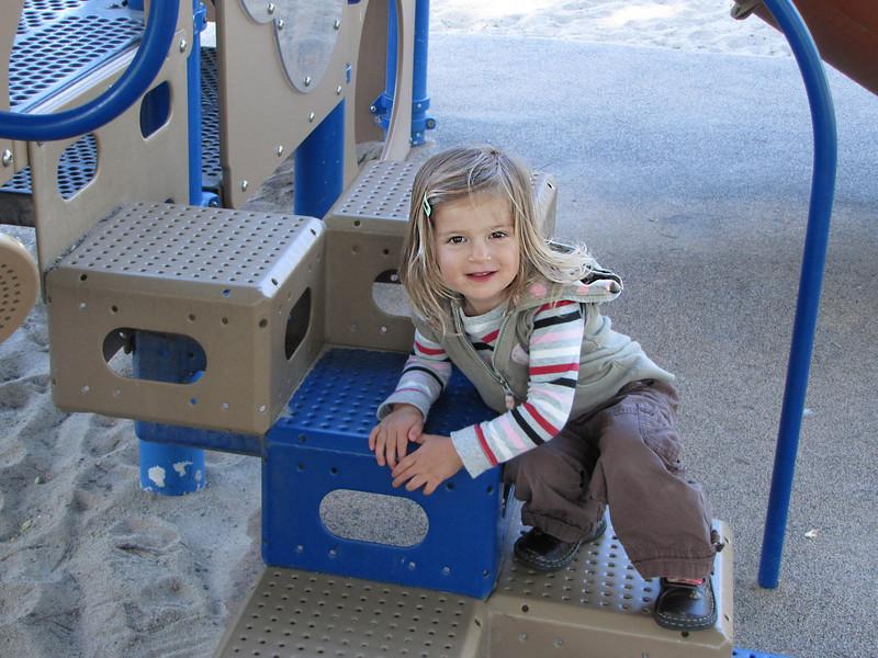 Hazel likes these Eleanor Park steps
