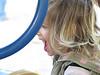 Hazel lets out a scream at Eleanor park
