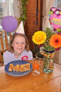 Maya turns 8