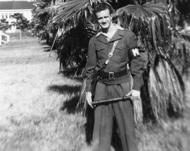 Uncle Lou on MP Duty at Camp Blanding near Jacksonville, FL on Dec 30 1944