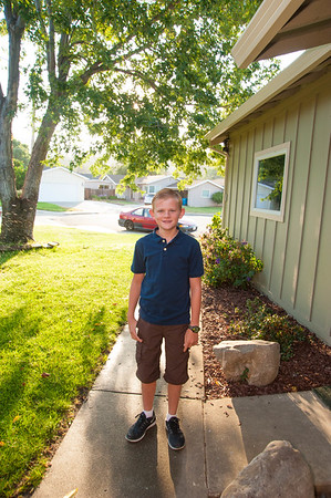 Liams First Day of 7th Grade 8/17/2017