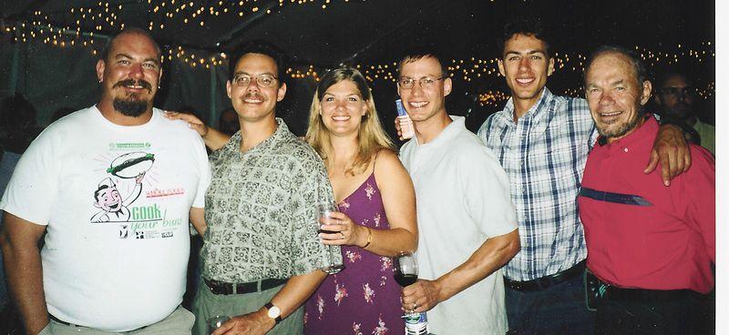 RJ, Patrick, Mahli, Matthew, Nathanael with Ricardo.