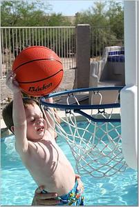Christian Slam dunking