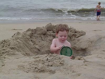 Digging a big hole