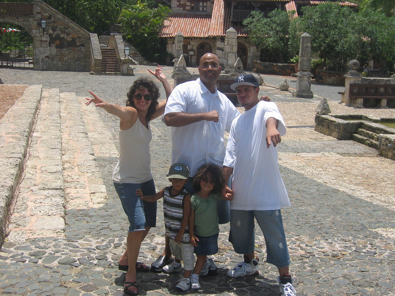 Santo domingo family vacation