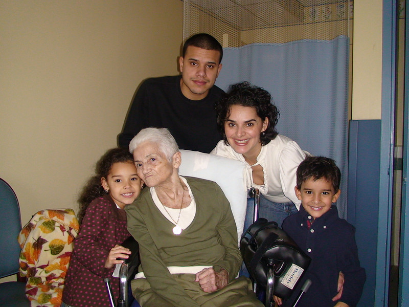 Abuela and her grandkids