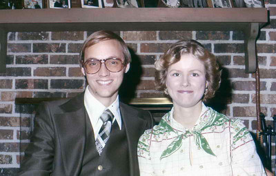 Clay & Darlene about 1979, when they headed to Portugal