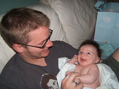 Nate & our granddaughter Kendra