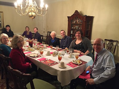 Mimi's early 93rd bday dinner at Glen -