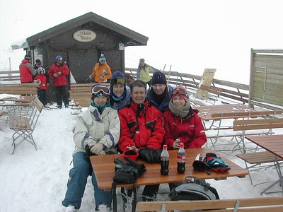 Elaine, Kat, Andy, Paula and Judith in Cham