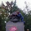 Jim Pheifer, WSC history prof, fondling Marx.