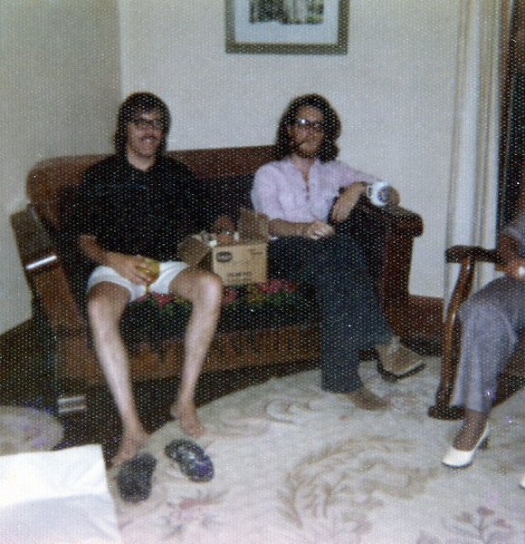Dinner party mid-1970s