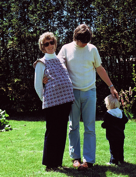Todd and a pregnant aunt Tina
