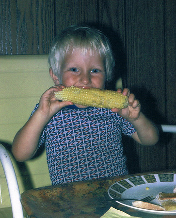 Kevin the corn lover