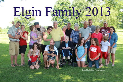 The Elgin Family 2013