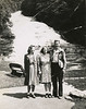1944-06-10 with Margaret Ryon at Buttermilk Falls, Ithica, NY