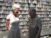 2006-08 IMG_0049 Joanne and Aunt Ellen, Elka's weding day in Pelham, NH