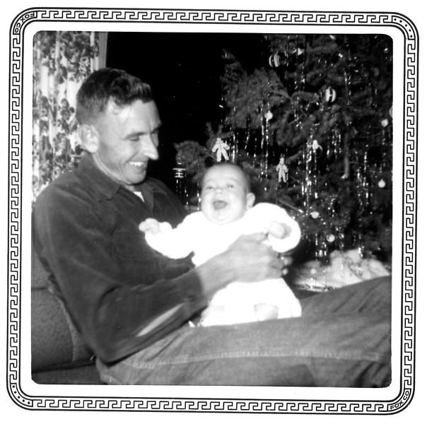 Bridget's first Christmas (4 1/2 months)