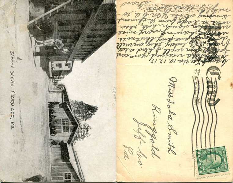 Postcards from a soldier, 1917