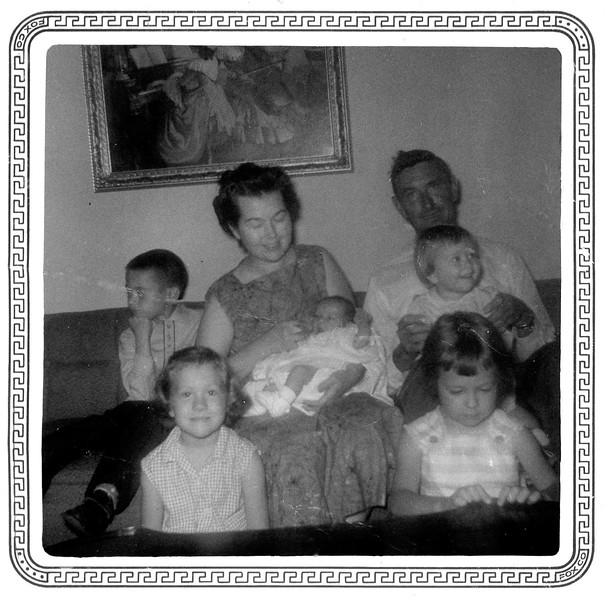 Jennifer arrives, April 10, 1960