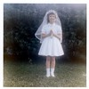 Susan on her First Communion day - 1964 or 1965