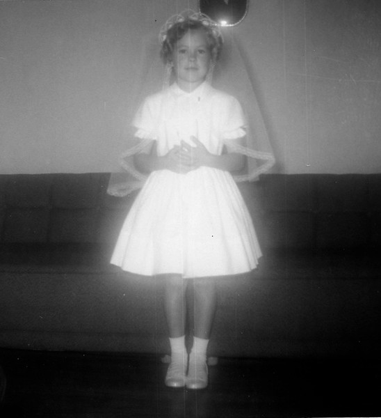 Bridget's First Communion, November, 1961