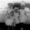 Four sisters, all dressed up for Easter