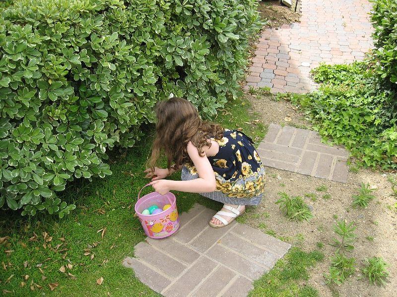 Either Rowan found an egg, or a worm.