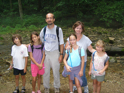 Springmill State Park, 2006 (L)Patrick, Becca and Joe Faulkinbury (R)Anna, Lisa and Rachel