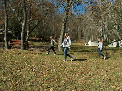 Rachel, Becca and Anna CMMBC October '10