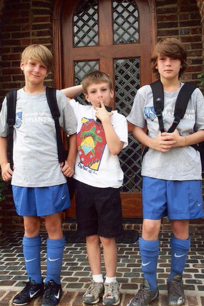 Jonah, Seth and Benjamin - 2005