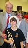 Benjie with Tom & Martha<br /> December 2009